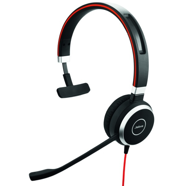 Jabra Evolve 40 UC Mono PC with 3.5 mm jack