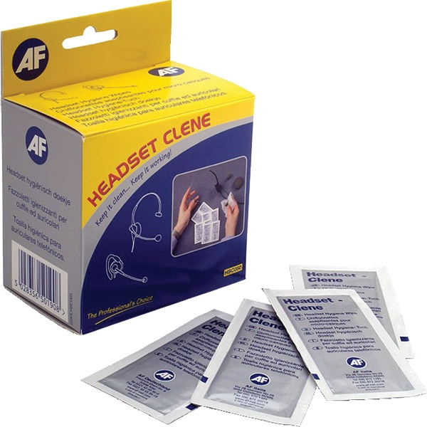 Headset-Clene Disinfectant Wipes