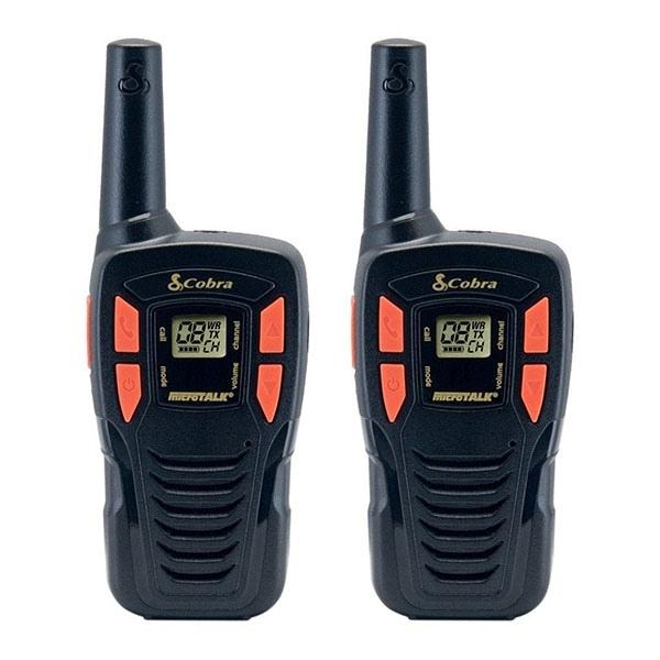 Cobra AM245 PMR 446 Radio - Twin pack