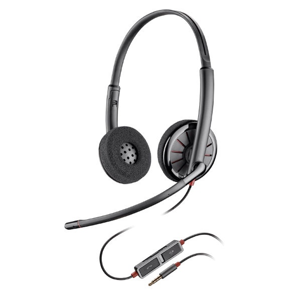 Plantronics Blackwire C225 Duo Headset