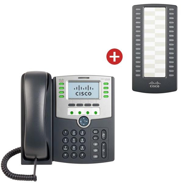 Cisco SPA 509G IP Phone + SPA500S Expansion Module