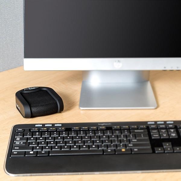 Phoenix Duet PCS MT202 USB Speakerphone on Desk