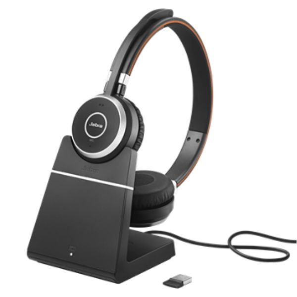 Jabra Evolve 65 UC Stereo with Charging Stand