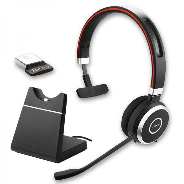Jabra Evolve 65 Uc Mono With Charging Stand Onedirect Co Uk