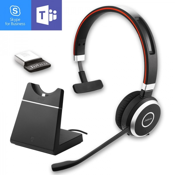 Jabra Evolve 65 Ms Mono With Charging Stand Onedirect Co Uk