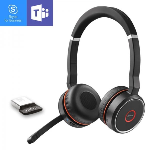Jabra Evolve 75 MS Stereo Bluetooth Headset 1