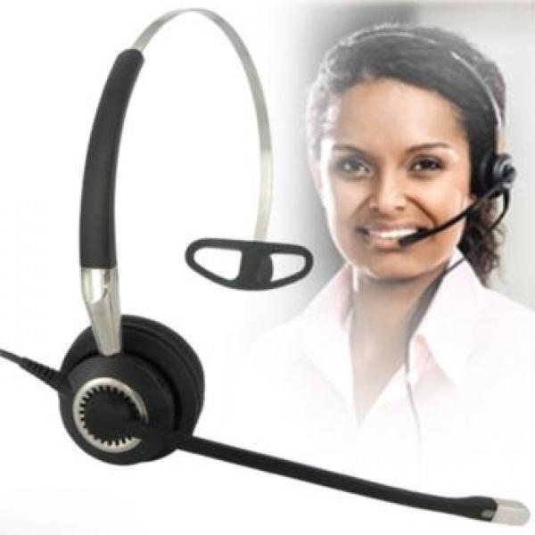 Jabra BIZ 2400 II Mono 3-in-1 Corded Headset