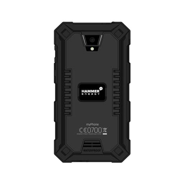 myPhone Hammer Energy Tough Smartphone (Black)