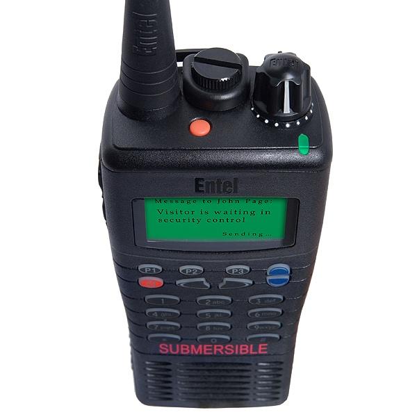 Entel HT726 VHF Two Way Radio