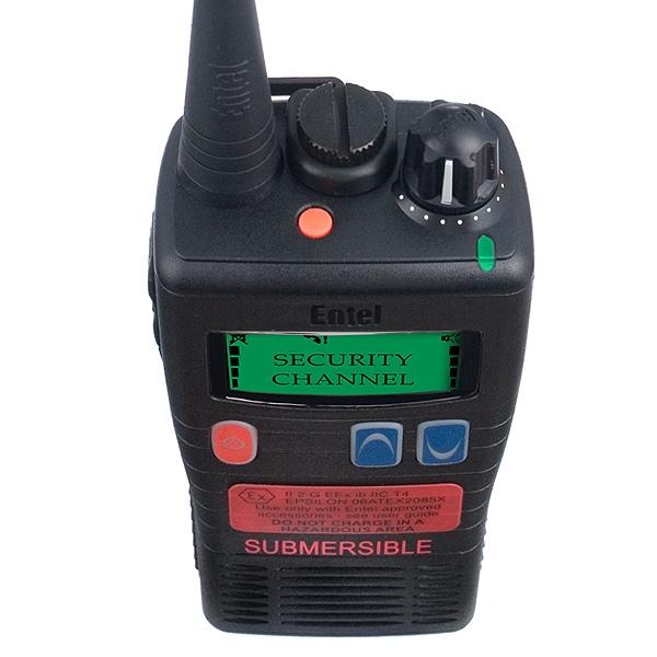 Entel HT983 Entry LCD ATEX UHF Two Way Radio