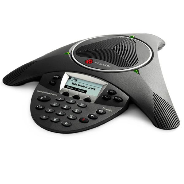 Polycom Soundstation IP 6000 PoE with Expansion Mics