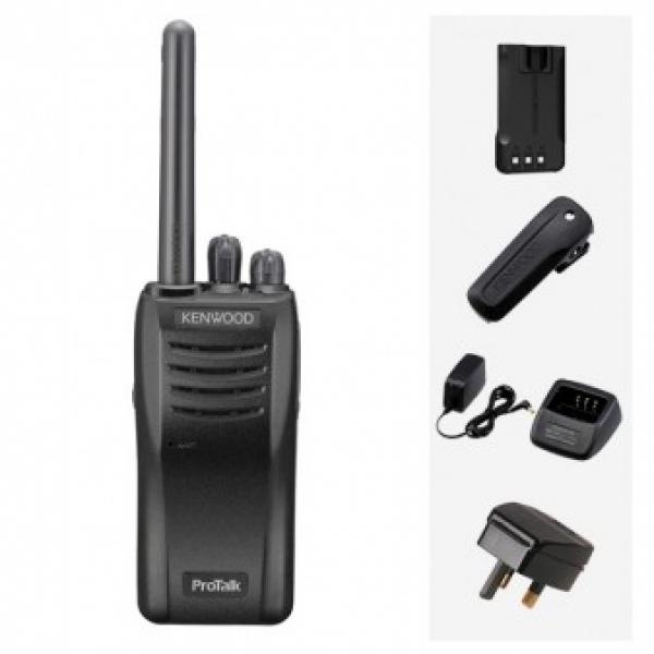 Kenwood TK-3501 Six pack + KMC-45W Speaker Microphone