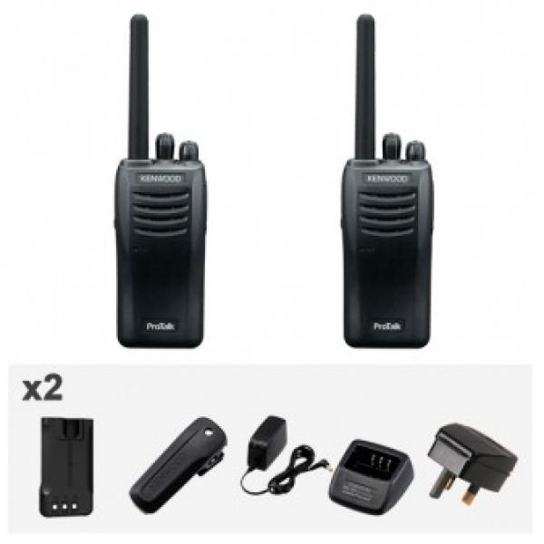 Kenwood TK-3501 Twin pack + KMC-45W Speaker Microphone