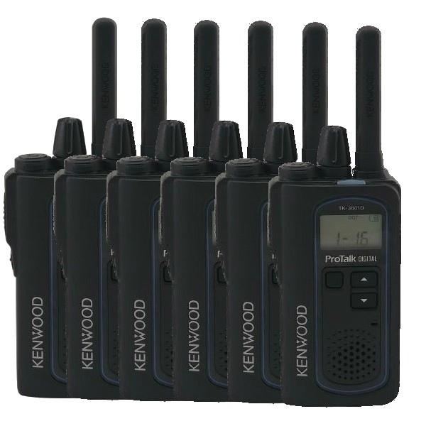 Kenwood TK-3601D Six Pack