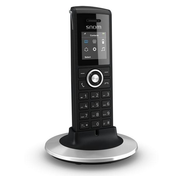 Snom M325 DECT Phone + 2 Additional M25 Handsets (3)