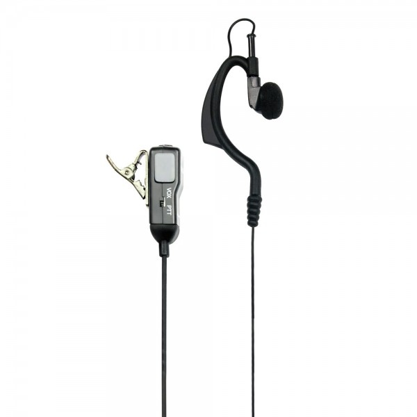 Earhook kit for 2-pin radios