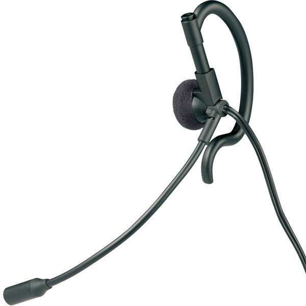 Motorola Earpiece with Boom for 1-Pin Radios