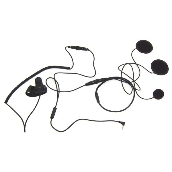 Closed Face Helmet Mic for 1-Pin Motorola Radios