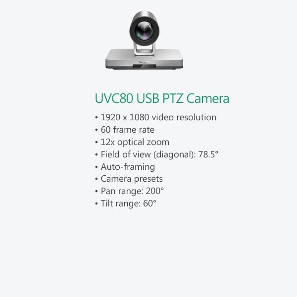 UVC80 USB PTZ Camera