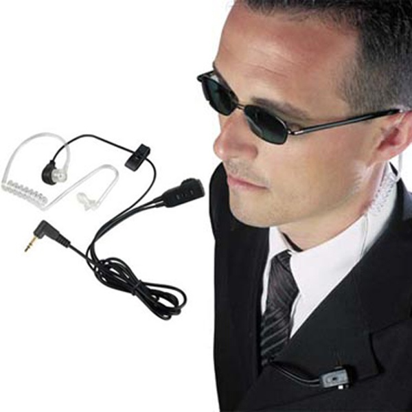 Bodyguard Kit with VOX for 2-Pin Motorola Radios