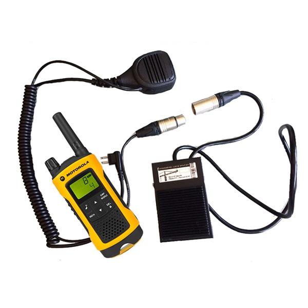 PTT Microphone for Motorola 1-Pin Radios