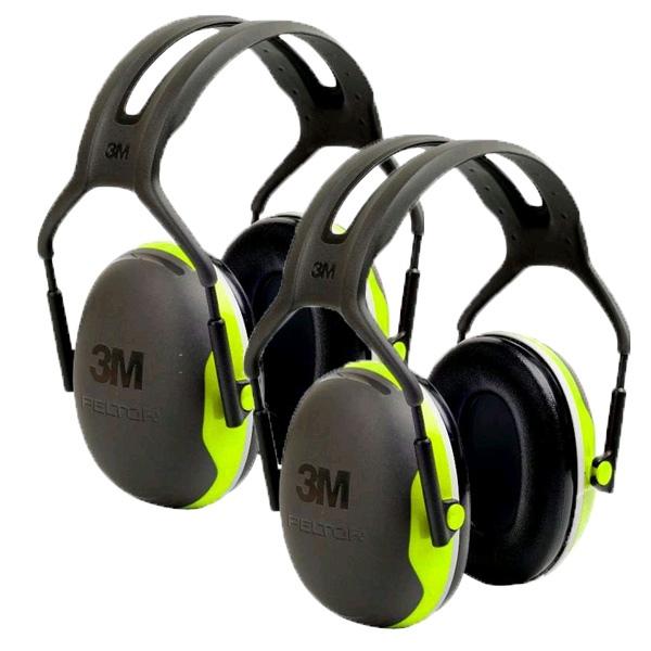 Peltor X4A Ear Defenders - Two Pack