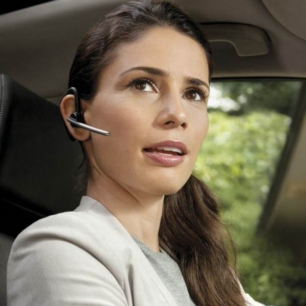 Plantronics Voyager Legend CS Cordless Headset in use