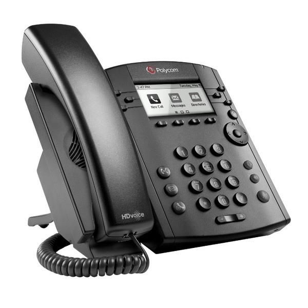 Polycom VVX 300 Refurb IP Phone 4