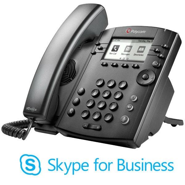 Polycom VVX 301 MS VoIP Desktop Phone