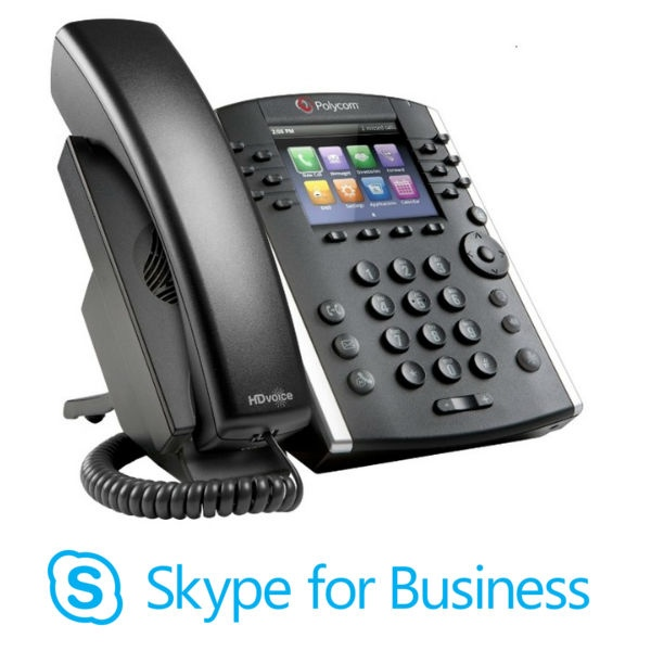 Polycom VVX 400 MS VoIP Desktop Phone (1)