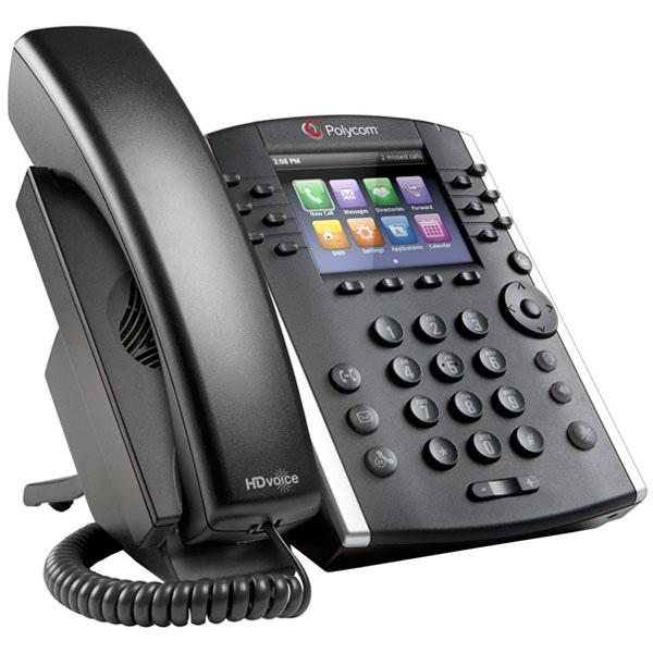 Polycom VVX 401 MS VoIP Desktop Phone (3)
