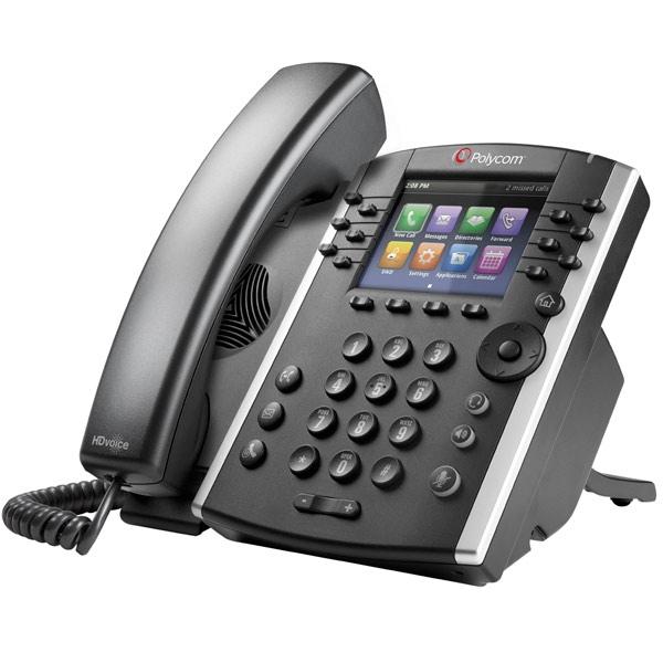 Polycom VVX 401 MS VoIP Desktop Phone (2)