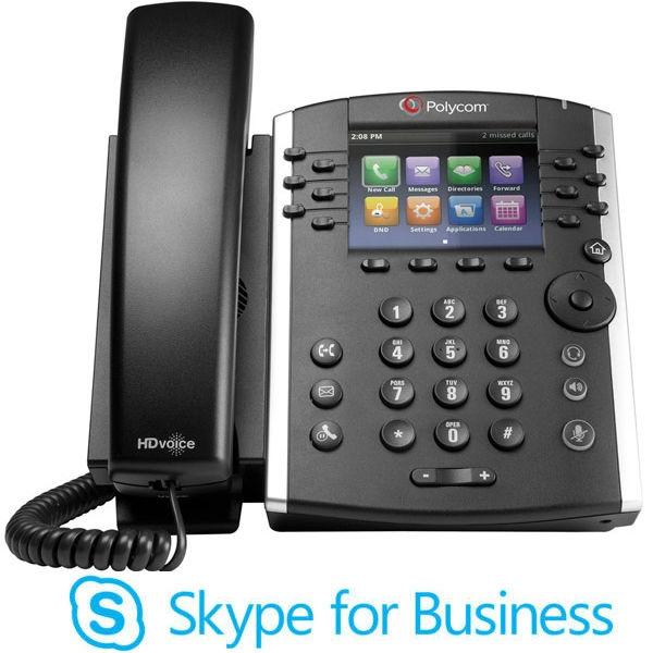 Polycom VVX 401 MS VoIP Desktop Phone