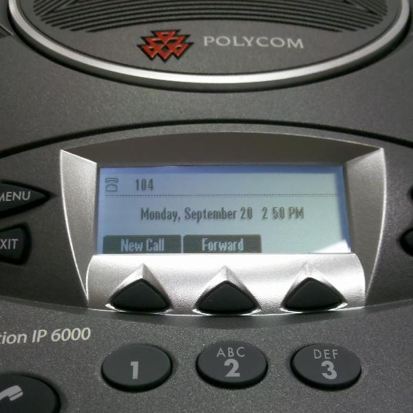 Polycom Soundstation IP 6000 PoE Conference Phone Refurb (5)