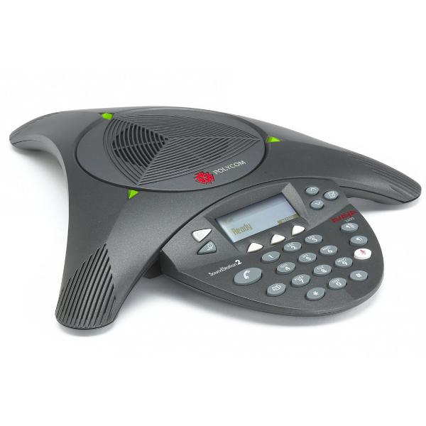 Polycom Soundstation 2 EX with Microphones