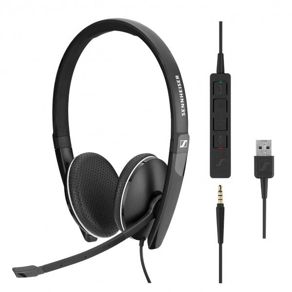 Sennheiser SC165 - USB và giắc cắm 3,5 mm