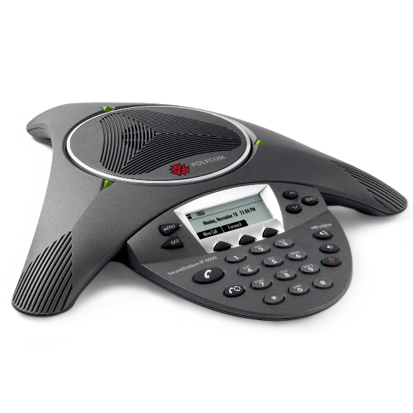 Polycom Soundstation IP 6000 Conference Phone with Power Supply