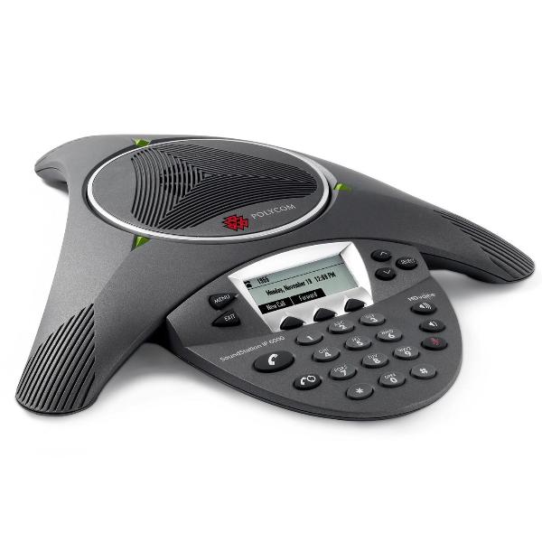 Polycom Soundstation IP 6000 PoE Conference Phone Refurb (3)