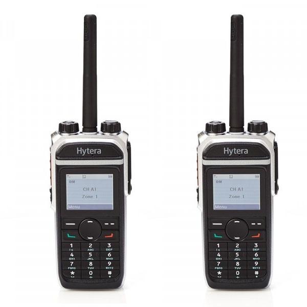 Hytera PD685GV VHF Twin Pack