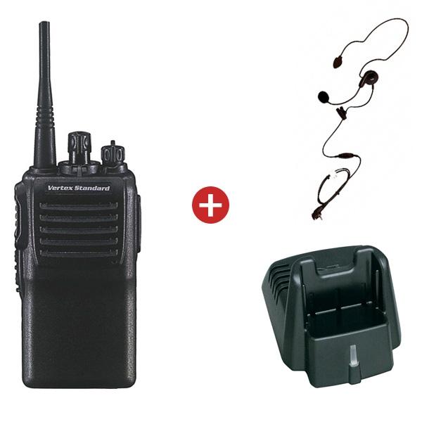 Vertex Standard VX-231-DO-5 VHF 16CH Two-Way Radio with Belt Clip