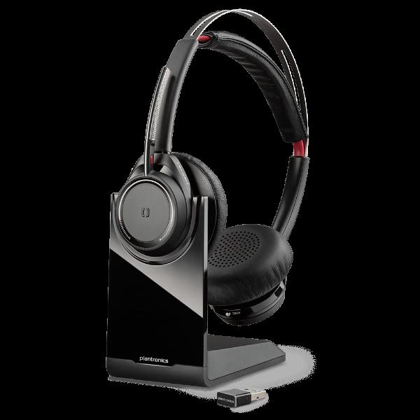 PlantronicsPlantronics Voyager Focus UC ML Headset With Base (3) Voyager Focus Headset With Base - Microsoft Version (3)
