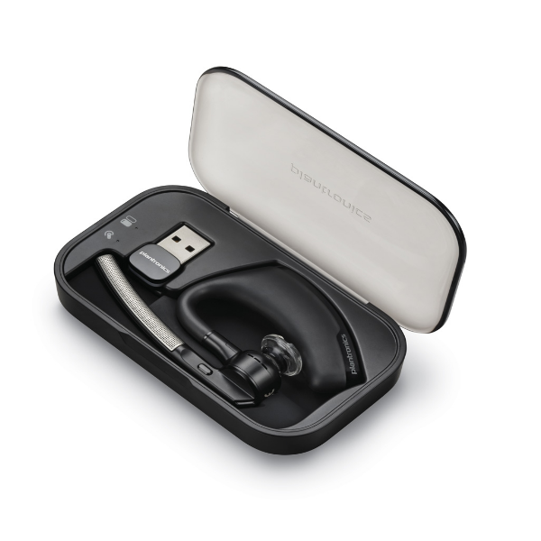 Plantronics Voyager Legend UC Cordless Headset in case