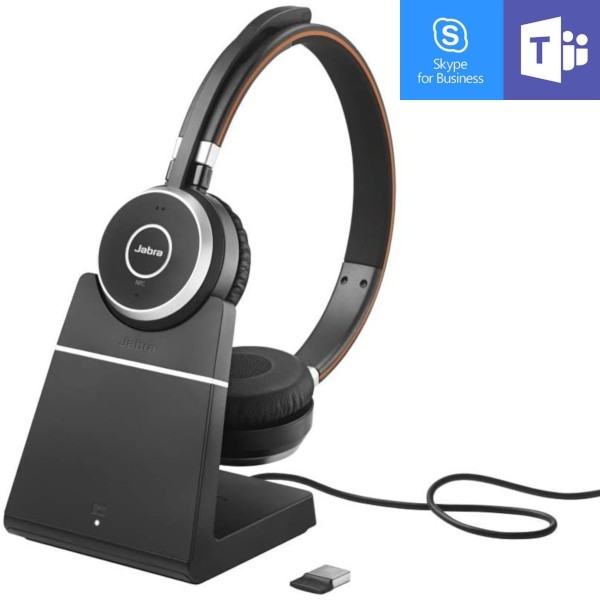 Jabra Evolve 65 MS Stereo with Charging Stand