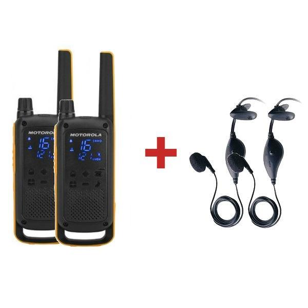 Motorola T82 Extreme + 2x In Ear Earpieces