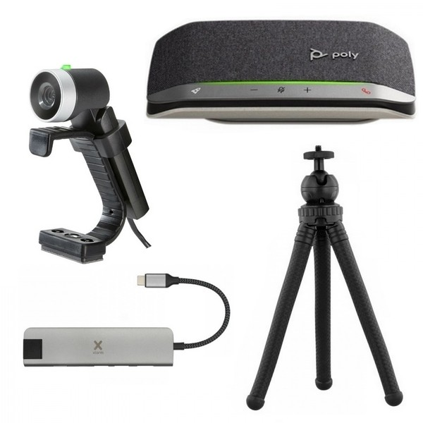Video conferencing pack with Poly Sync 20