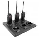 6-way Charger for Mitex General Xtreme, 446 Xtreme2 and DMR Radios