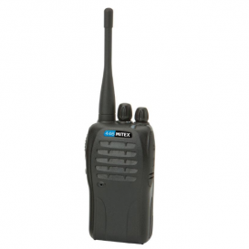 Mitex PMR446 Two-Way Radio - Single Pack