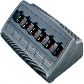 6 Bay Charger for Motorola GP330/340 Radios