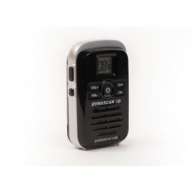 Dynascan 1D PMR446 Walkie Talkie - Black