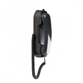 Depaepe HD2000 Wall-Mount Telephone No Keypad (Black)
